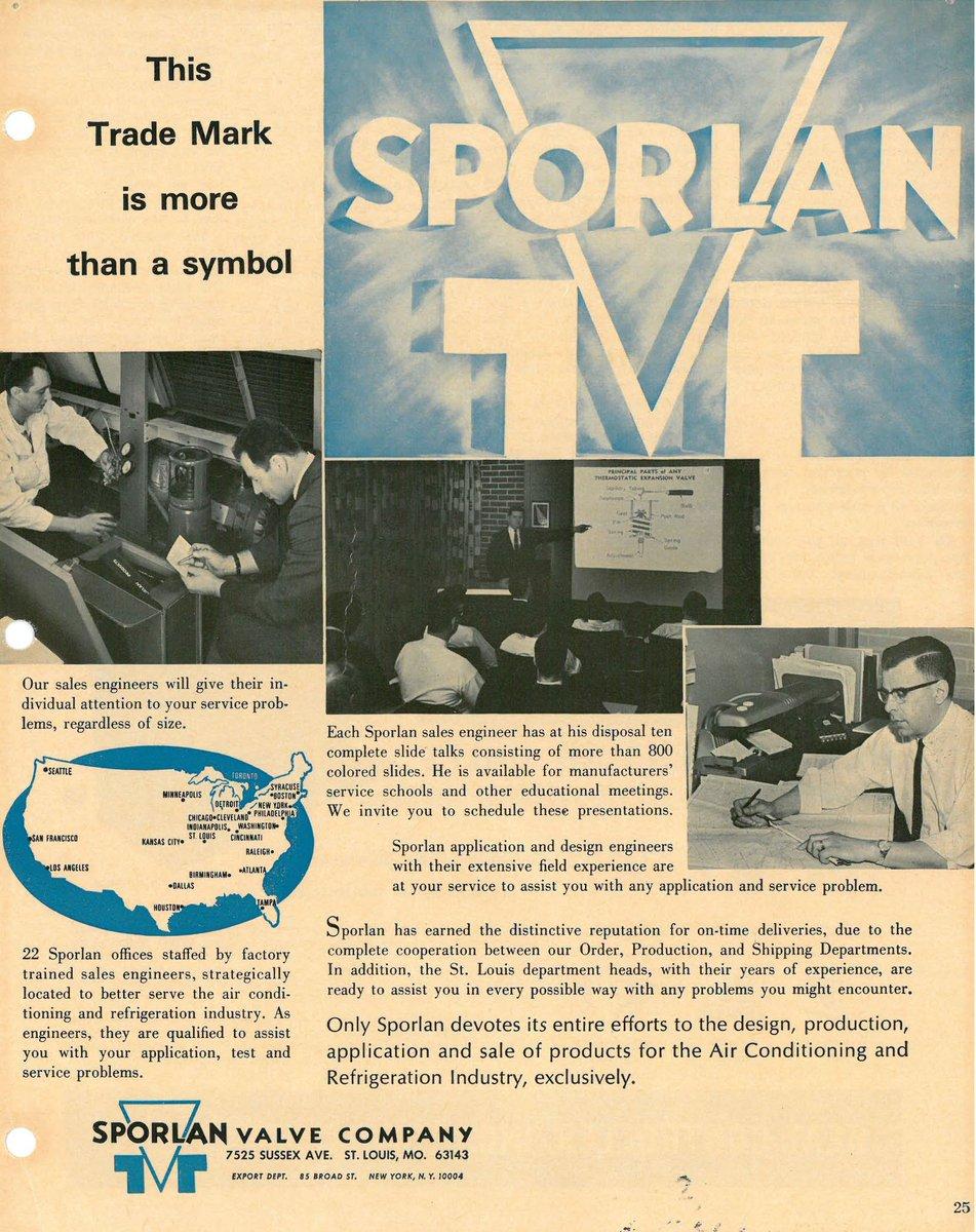 Parker Sporlan On Twitter Flashbackfriday Vintage Sporlan Ad