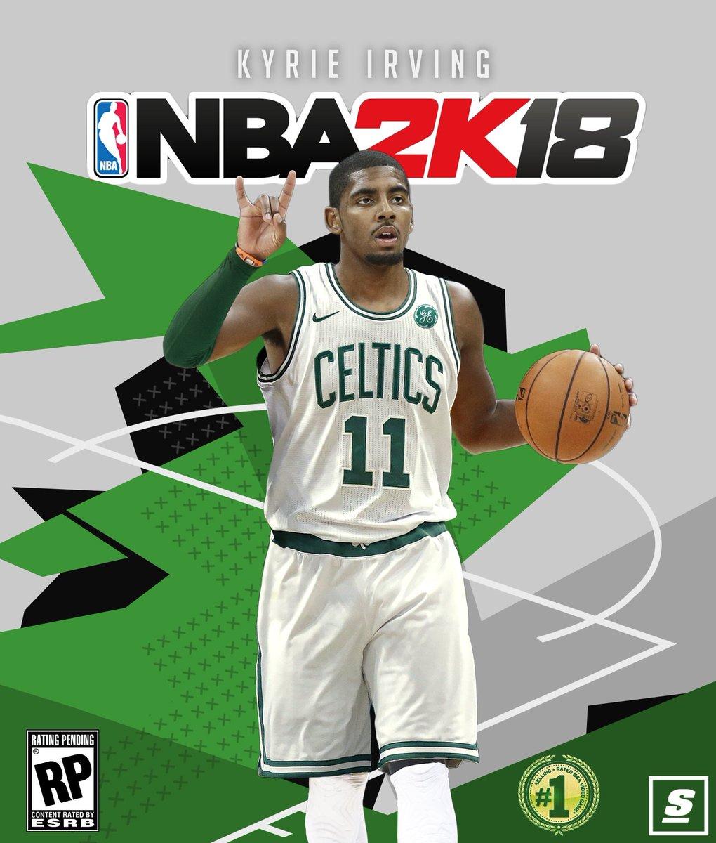 """Kyrie Irving Wallpaper: Celtics News On Twitter: """"#NBA2K18 #Celtics Kyrie Cover!…"""