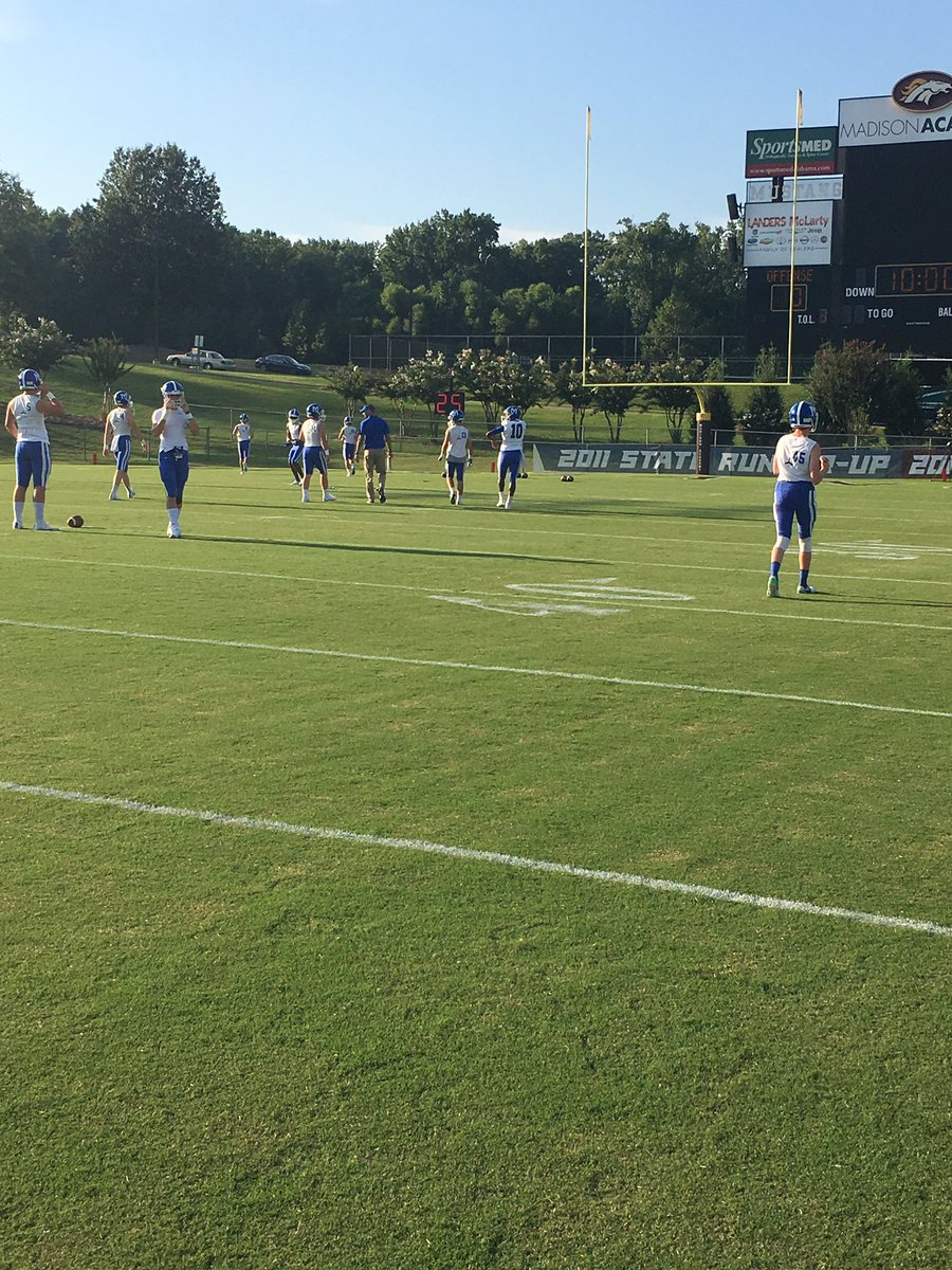 Mccallie Football On Twitter Mccallie On The Field For Their