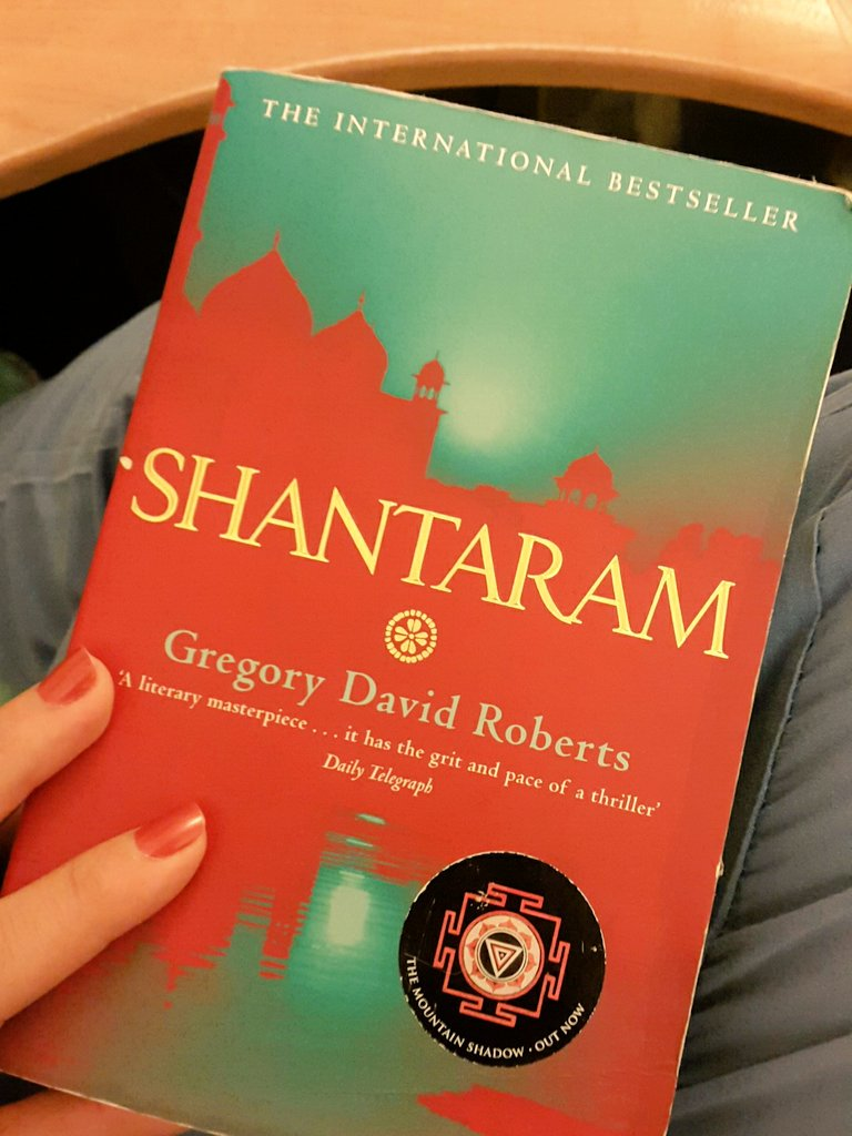 And who ever read .... Shantaram What is there ... E