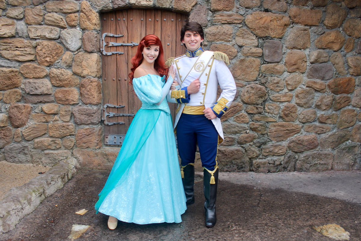 Disneycharacterguide on twitter new at mnsshp ariel prince ariel prince eric are meeting in fantasyland near their attraction notsoscary disney halloweenparty disneyworld httpstpuclm2n2qx m4hsunfo