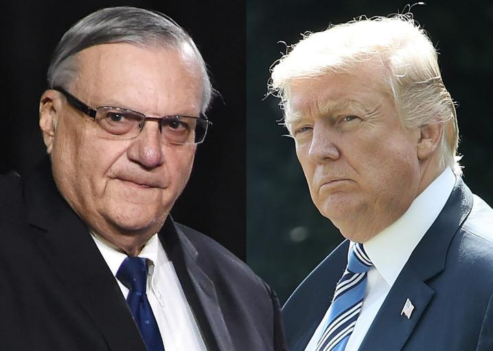 Joe Arpaio illegally tortured Latinos. Of course Trump pardoned him: https://t.co/IAGW244v8m https://t.co/JXOtedfwLr