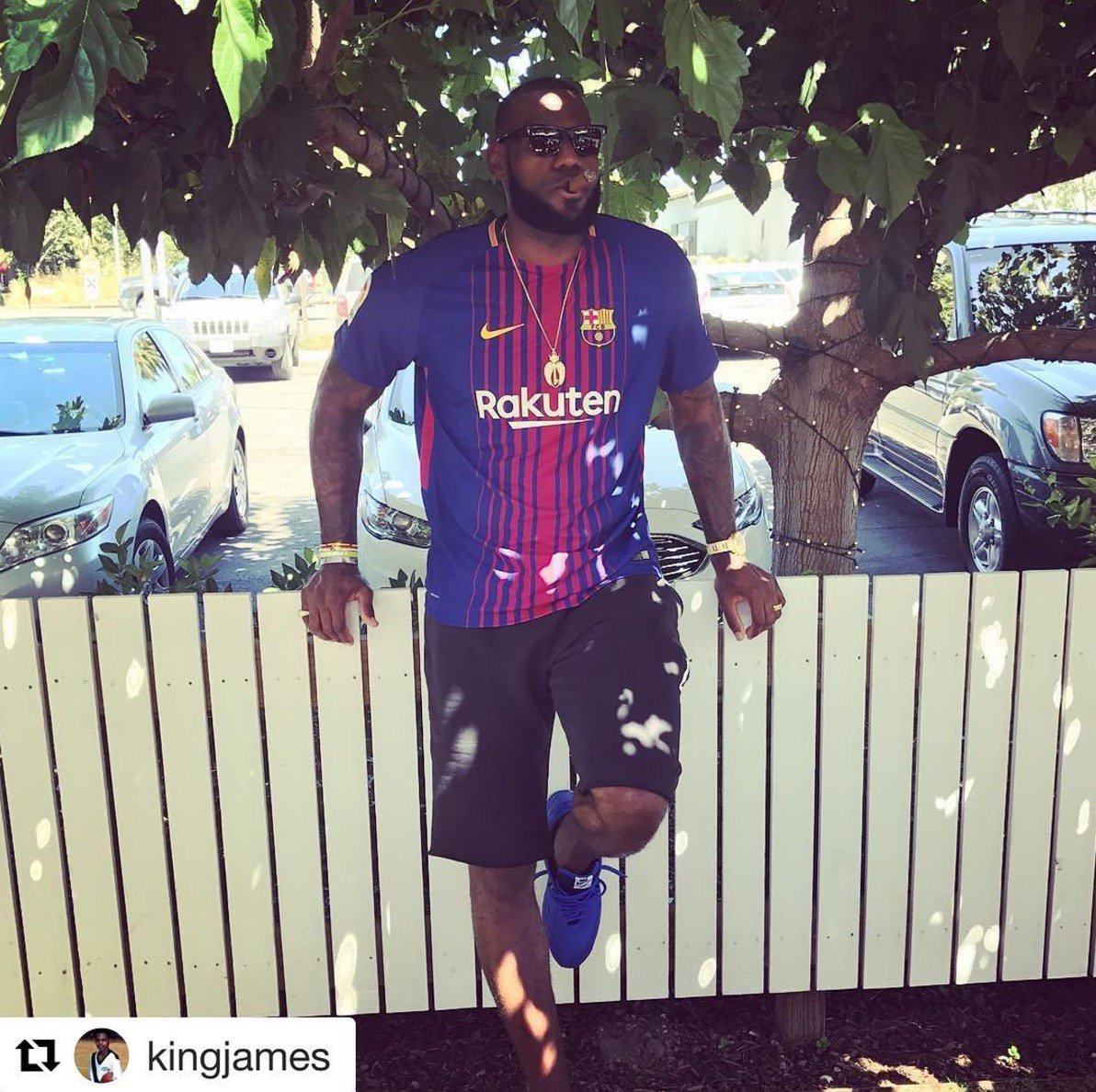 Lebron james instagram