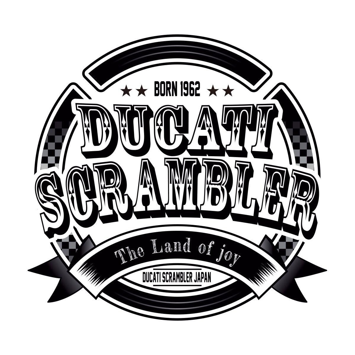 Saito T على تويتر Ducati Scrambler Japan Sticker Design