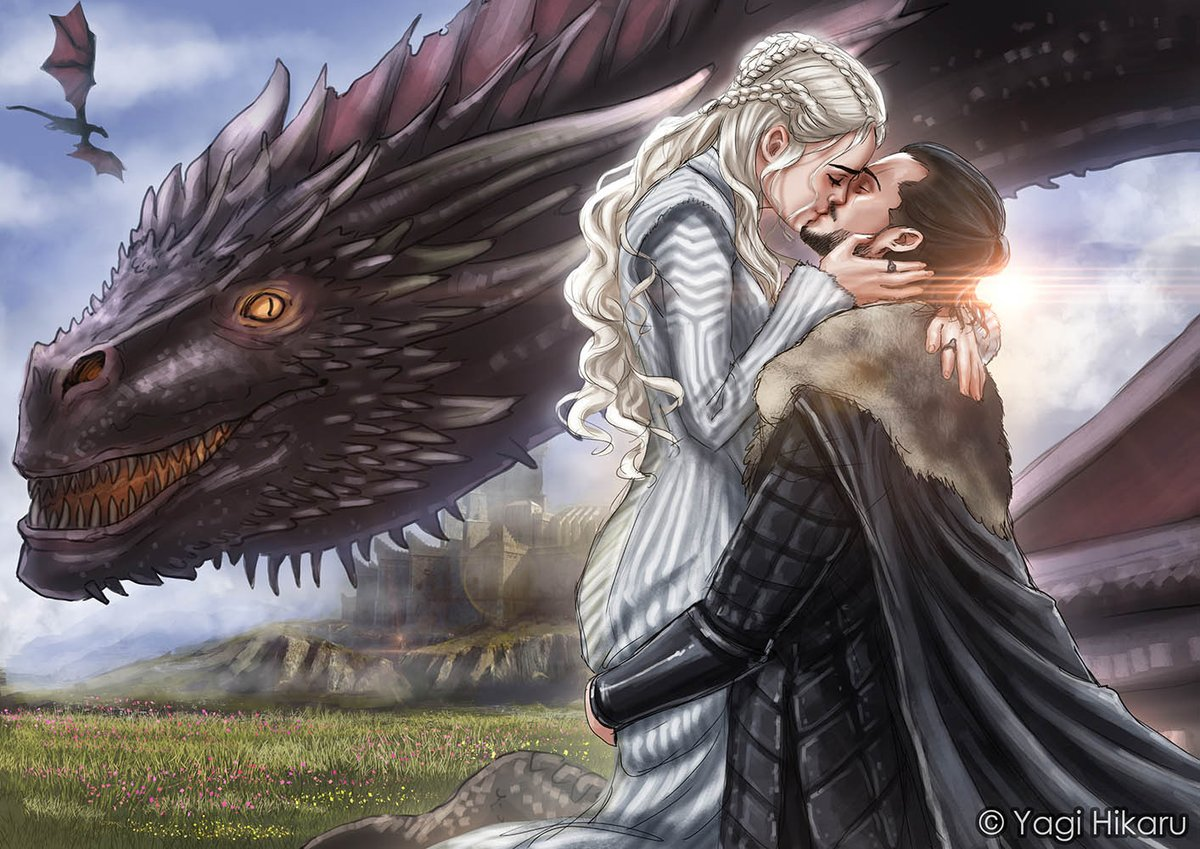 In this weekend! It will happen@GameOfThrones #kiss #gameofthronesseason7 #gameofthrones  #daenerys  #jonsnow  #jonerys #dragons<br>http://pic.twitter.com/gJGwxrqog4