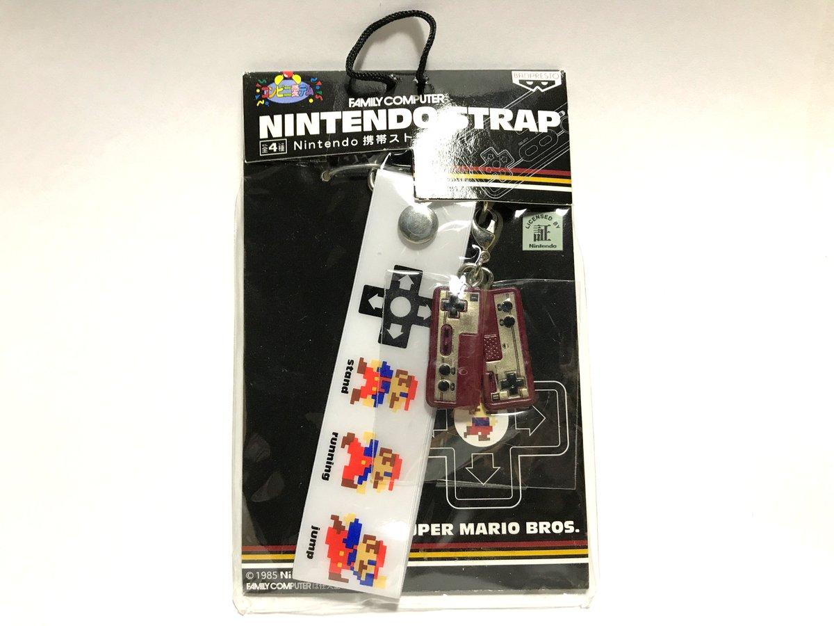 任天堂 携帯ストラップ-SUPER MARIO BROS.