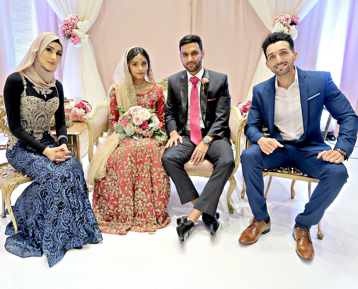 Sham Idrees On Twitter Happy Married Life Bro Za1d Welcome To The Family Bhabi