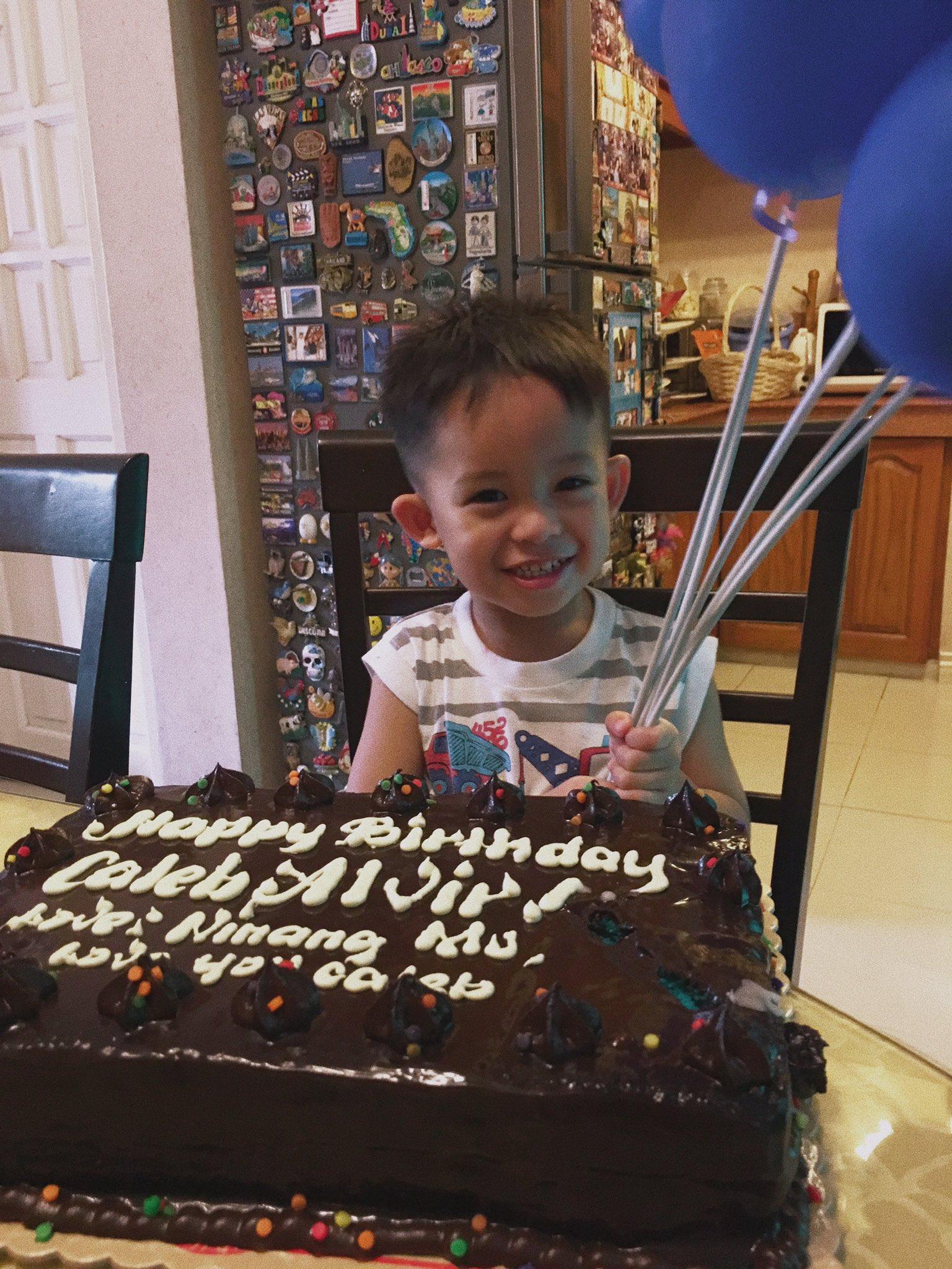 Happy Birthday Caleb!!!    love youu huhu big boy ka na :((