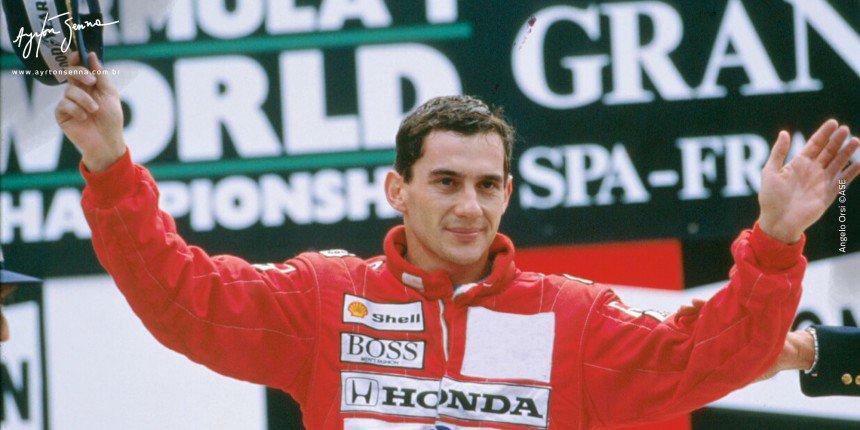 GP da Bélgica de 1988: vitória de Ayrton...