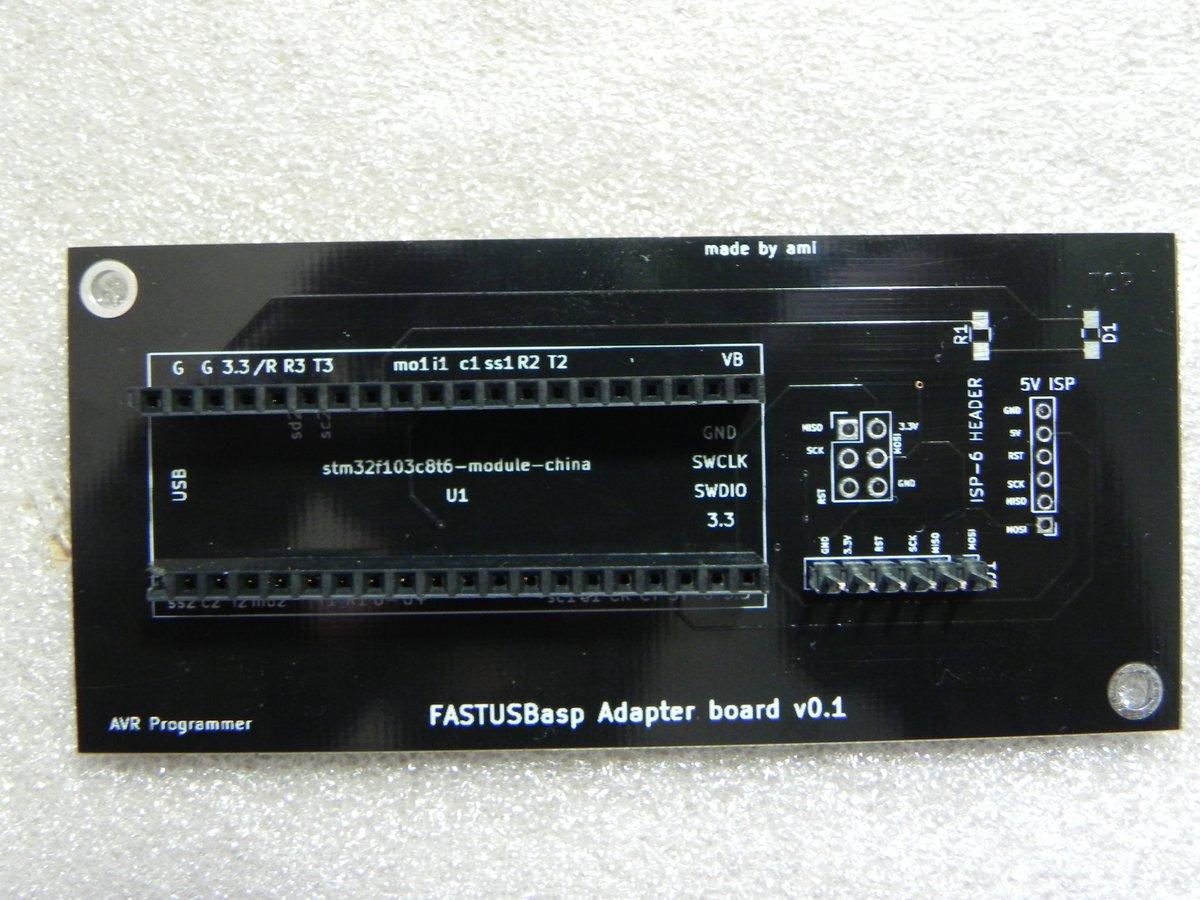 STM32]: FASTUSBasp programmer for AVR
