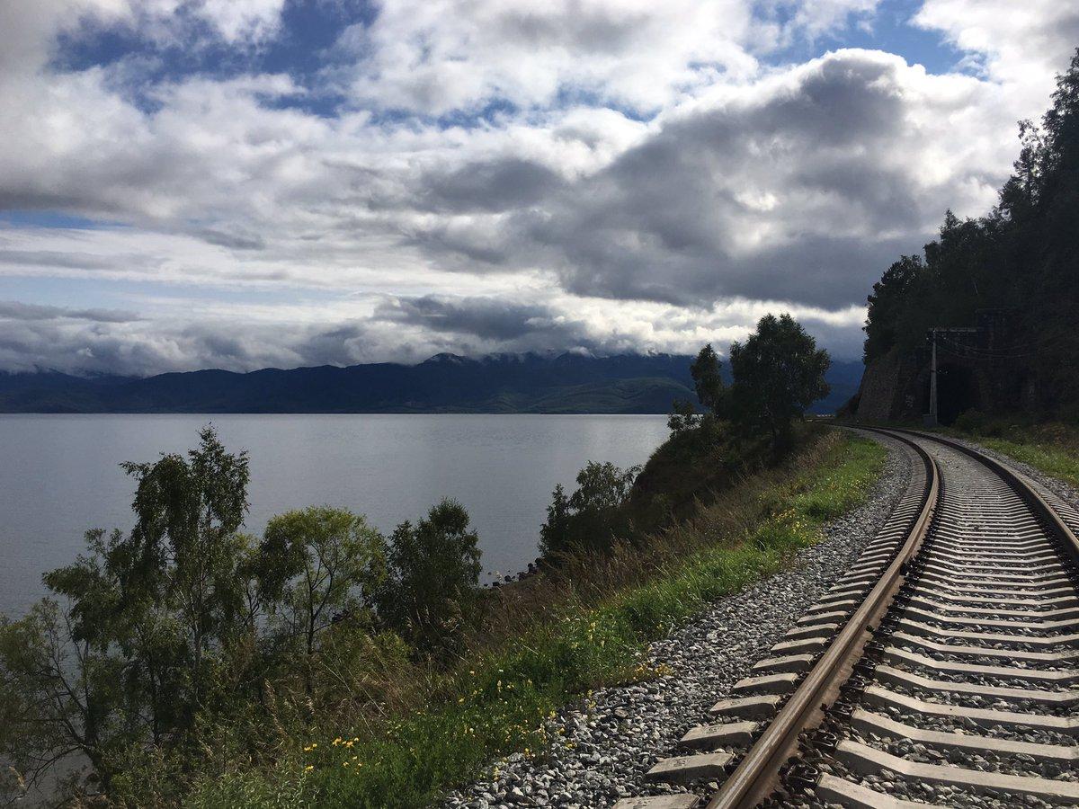 Картинки железная дорога байкал