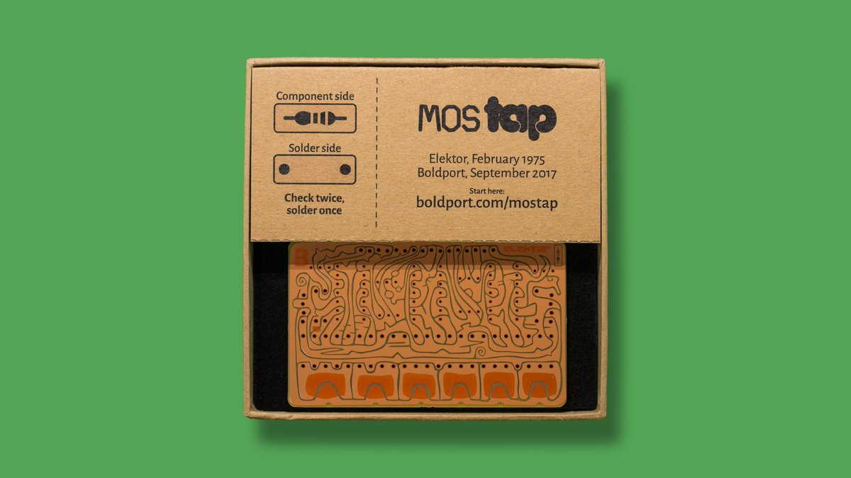 MOSTAP, #BoldportClub's next project