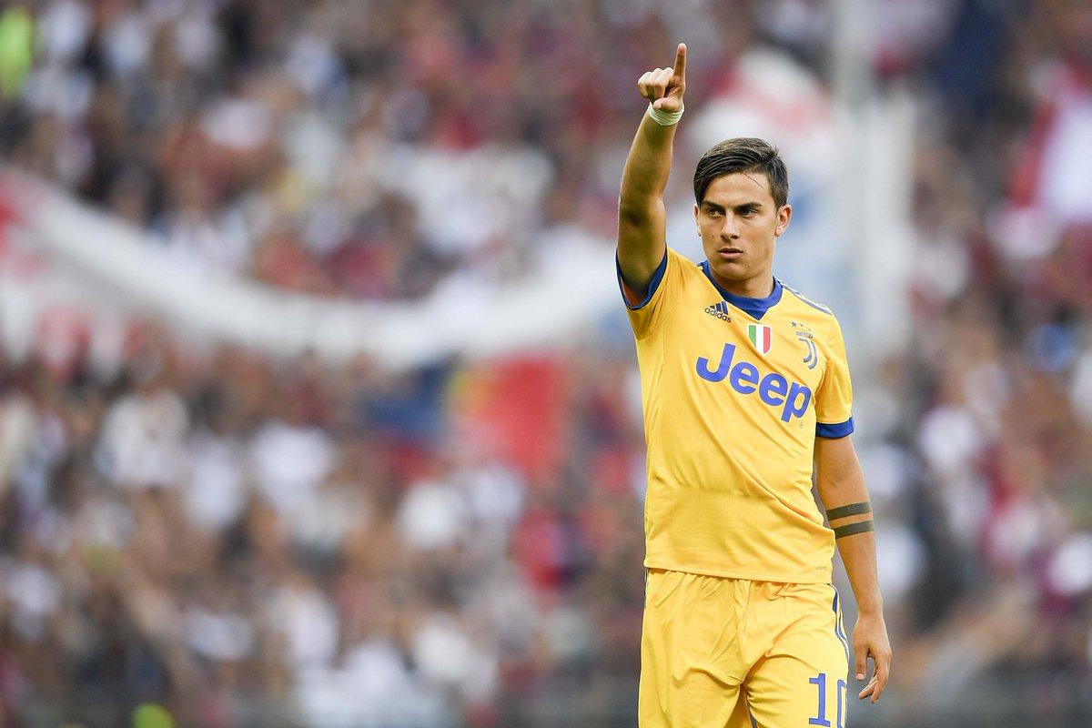 Genoa-Juventus 2-4, super rimonta con magico Dybala: prima tripletta in Italia