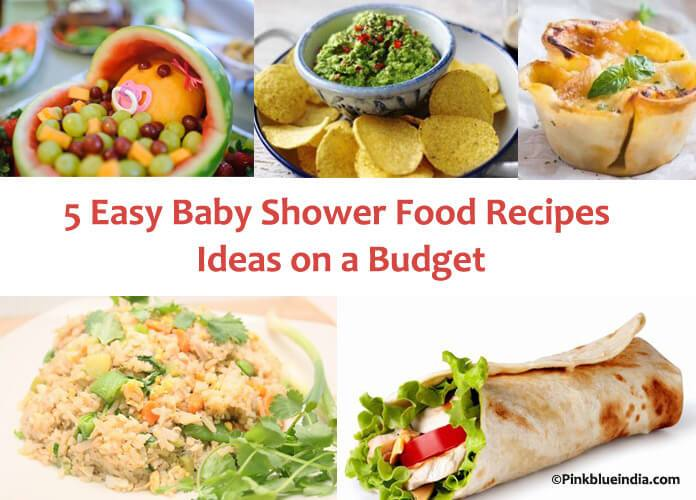 Pink Blue India On Twitter 5 Easy Baby Shower Food Recipes Ideas