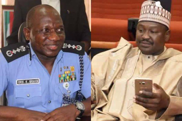 Police Force accused Senator Misau of deserting the force and forging his own retirement letter; Misau insisted on illegal promotions, bribery