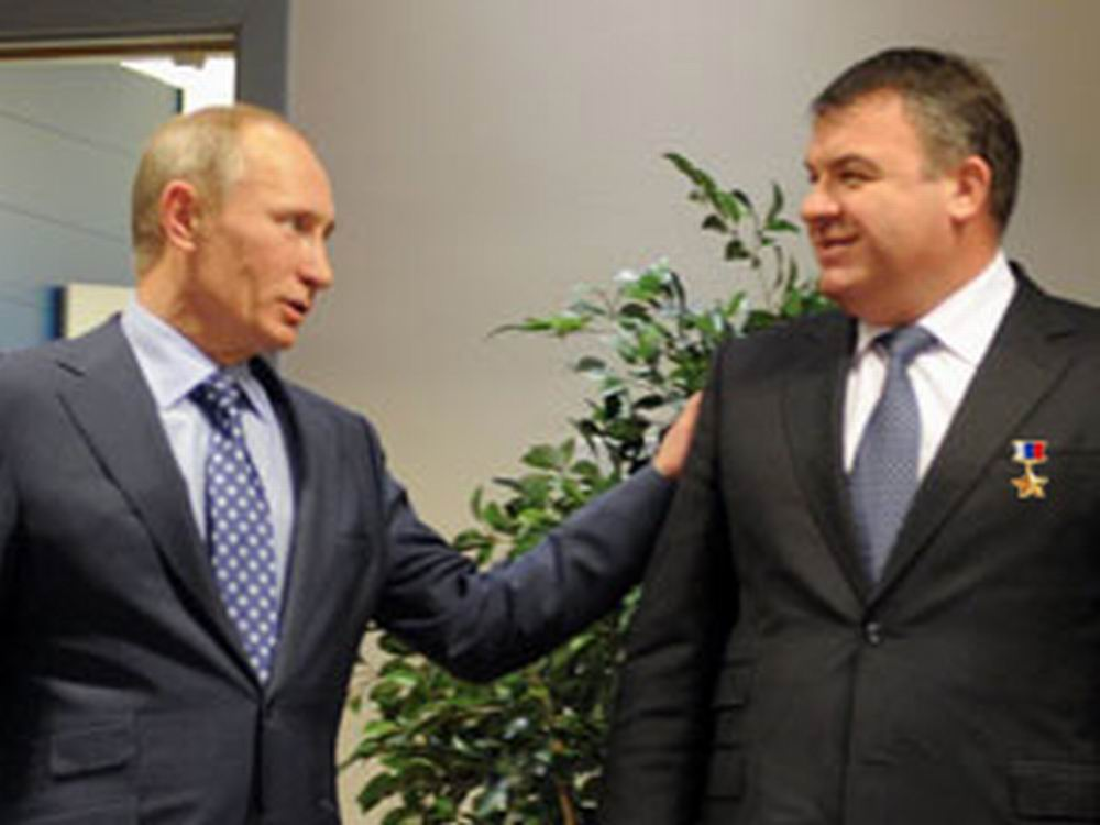 фото сердюков со звездой героя россии был обычным