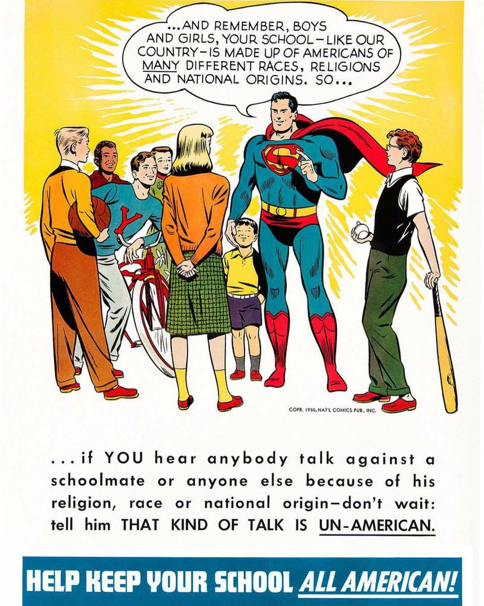 Well done @DCComics on restoring this Superman image of hope and love for all Americans. https://t.co/kW7iOAg51E https://t.co/rq9GoJbBKD