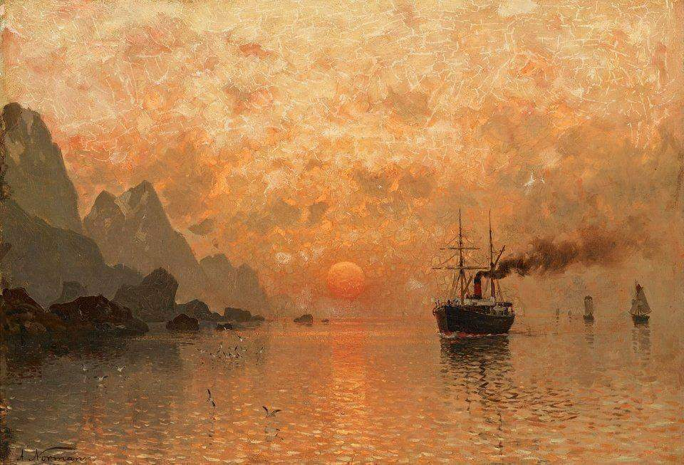 Adelsteen Normann(1 May 1848 - 26 Dec 1918) was a Norwegian landscape painter painter. https://t.co/qYyp4To9zO RT @AHistoryofPaint @nlt5926