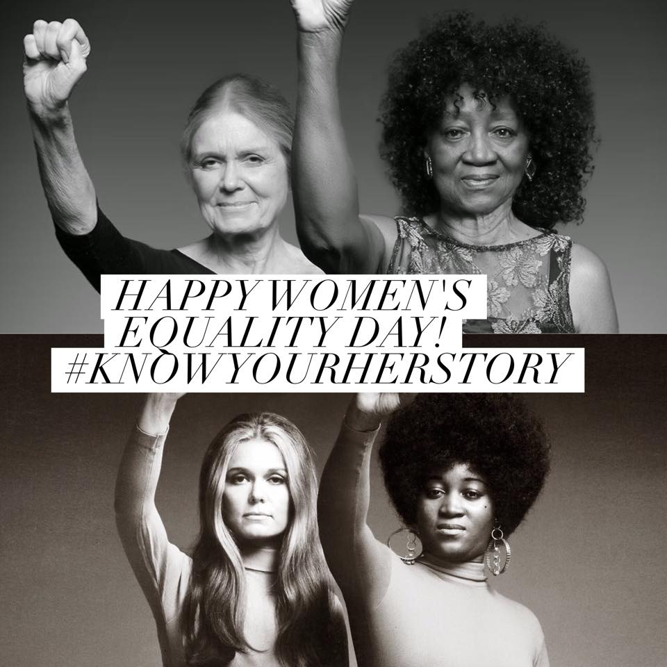 This image fill my heart with so much hope and joy. Happy #WomensEqualityDay! https://t.co/UOaAaIuDQJ