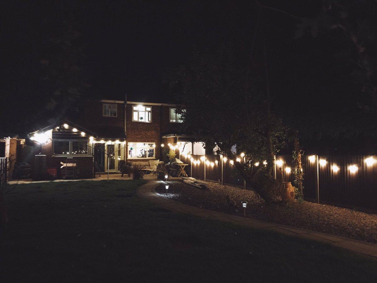 helen anderson on twitter i put up the garden festoon lights i