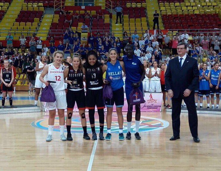 Η @ichatzileonti στην καλύτερη πεντάδα του #FIBAU16Europe. #HellasU16W @fiba pic.twitter.com/y5Admfff45
