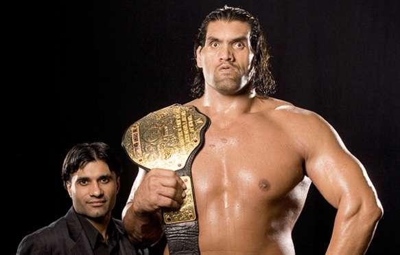 Happy birthday (Indian wrestler)