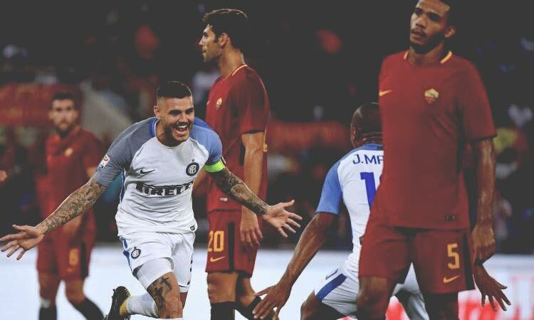 Roma-Inter è finita 1-3 ed è stata una partita ricca di emozioni
