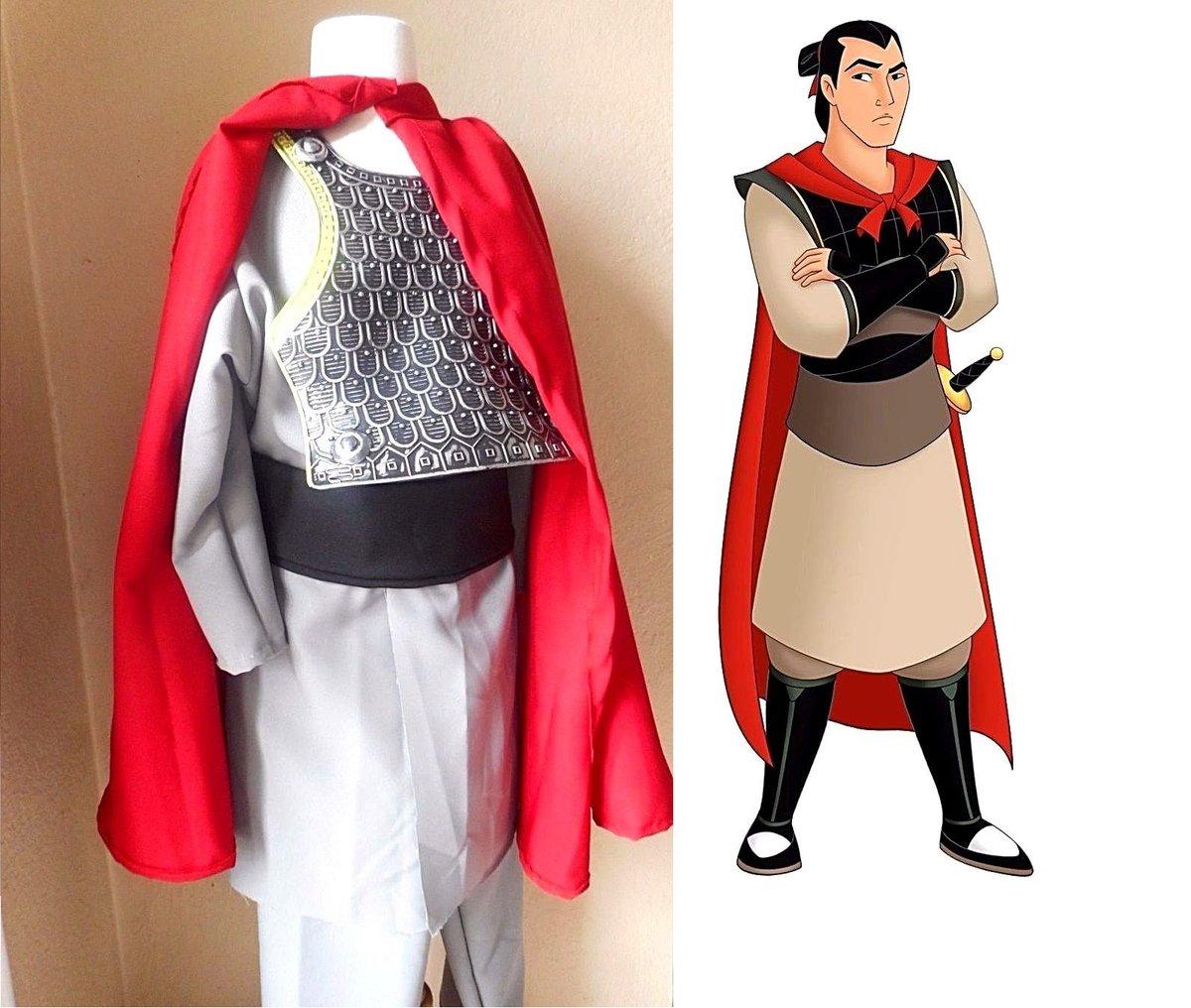 ... com/itm/Li-Shang-Mulan-complete-costume-cape-set-for-Adult-size-S-L-Disney-bound-/282613720827?varu003du0026hashu003ditem41cd1726fbmmr-fM3eKSjg06jyhJBk_r5g u2026  sc 1 st  Twitter & Pretty Elegance on Twitter: