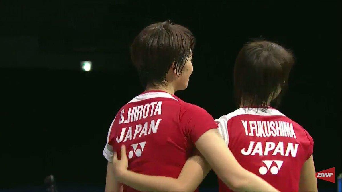 "Badminton Talk on Twitter ""Omedeto Woww Yuki Fukushima"