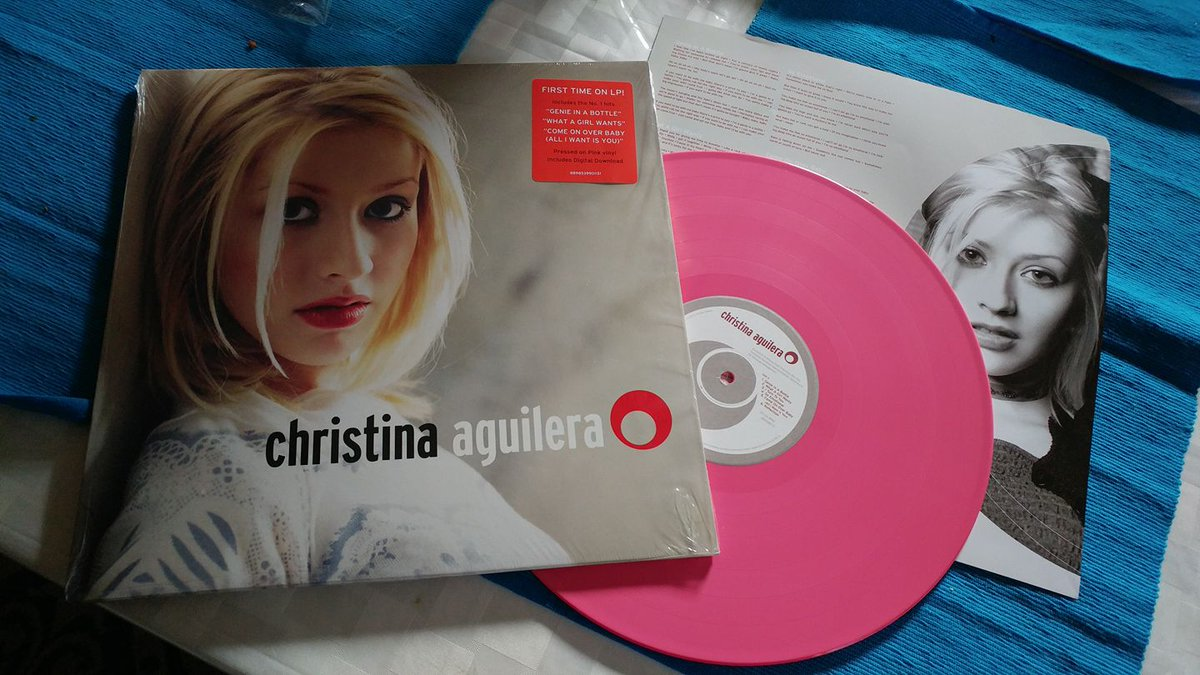Received a nice gift from my son @LeoADion today.  Thank you so much. I Love @xtina #Vinyl https://t.co/k7Cm2lcZFO
