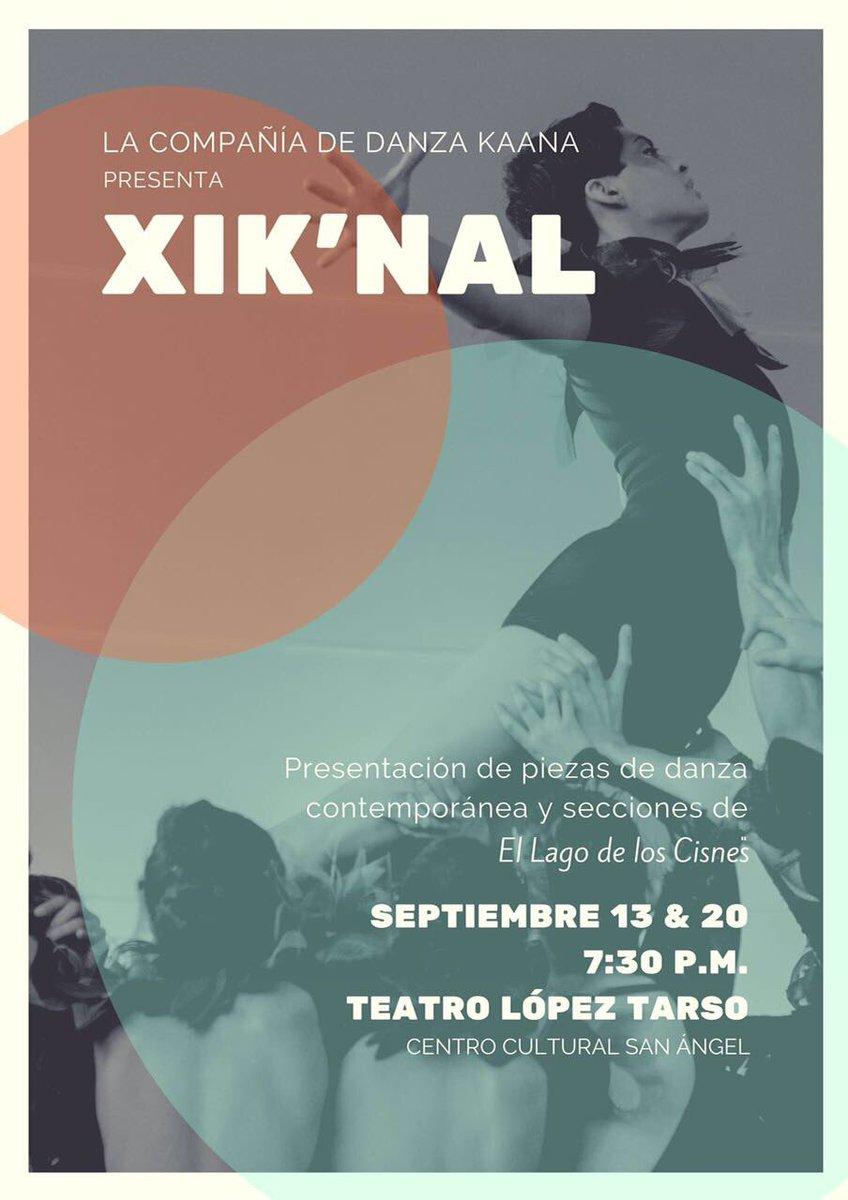 El Centro Cultural San Ángel te hace una atenta invitación. Aparta tus lugares #LaGuíaCDMX  #DanzaContemporánea  👉🏻Boletos $120.00 https://t.co/jZL7P512uP