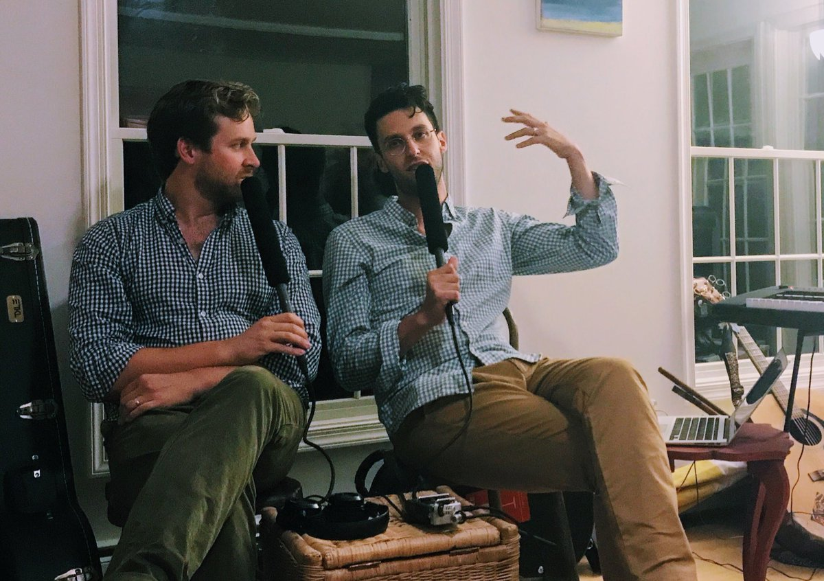 Switched On Pop Twitter Nate Charlie Went Vacation Together And Recorded A Live Show In Front Of Friends Episode Out 9 7