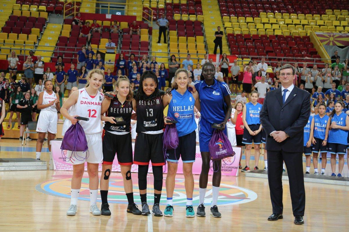 Lisowa Mbaka  named MVP , headlines Women's #FIBAU16Europe All-Star Five!    http:// go.fiba.com/U16WBAllStar5    pic.twitter.com/vyNlYjBPyY
