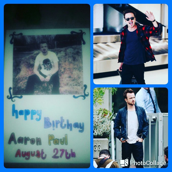 Happy birthday Aaron paul...