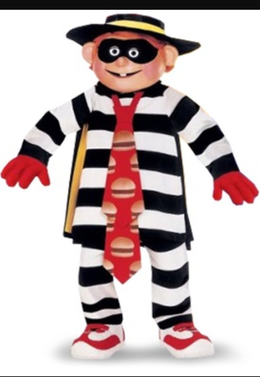 Hamburglar looking brand