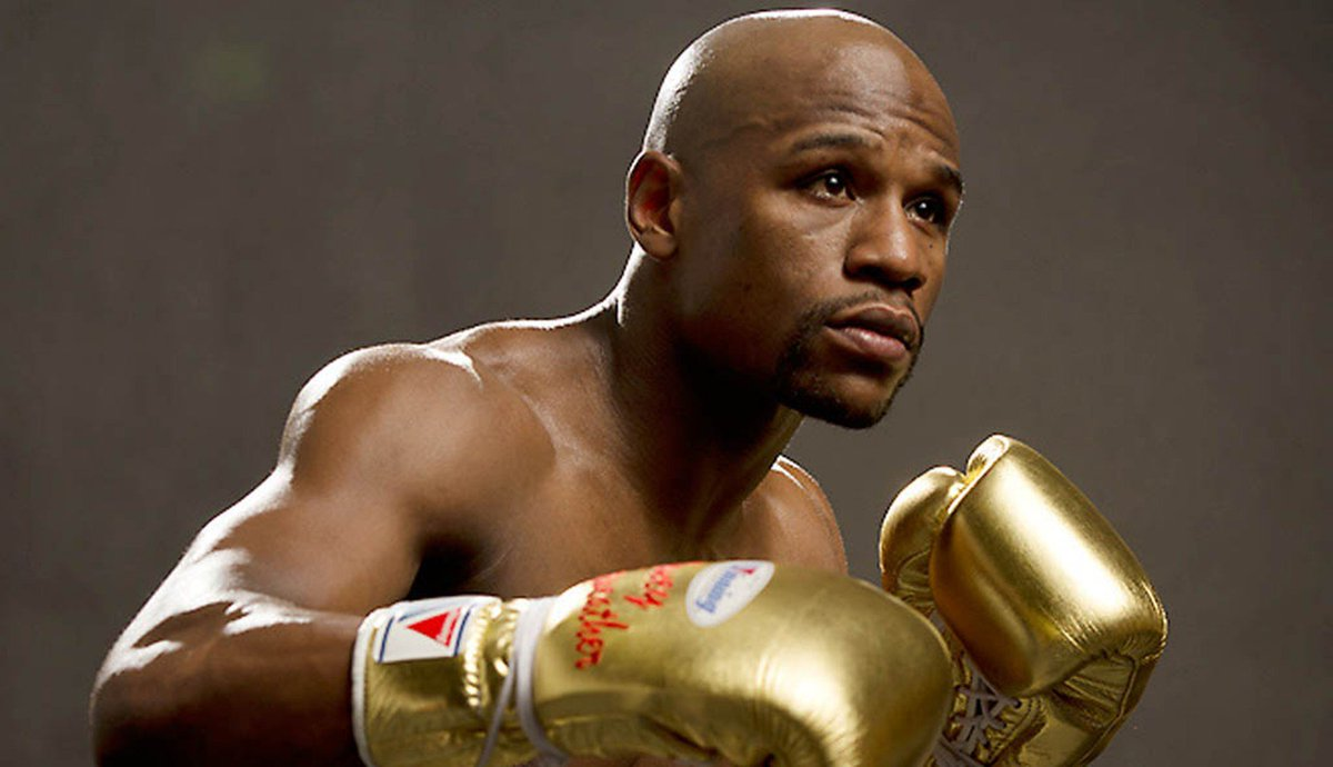 And Floyd Mayweather remains undefeated