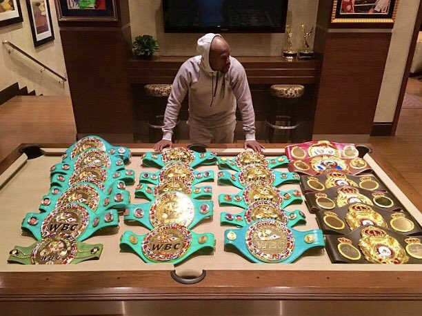 https://t.co/IkbxNdVlJr 50-0 FLOYD MAYWEATHER