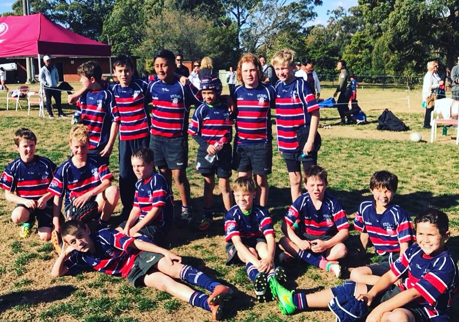 So chuffed to announce our u10&#39;s @SylvaniaBulldog Team are in the @SydJuniorRugby Sunday Comp GF + undefeated all year! #juniorrugby <br>http://pic.twitter.com/FICcNw4ryz