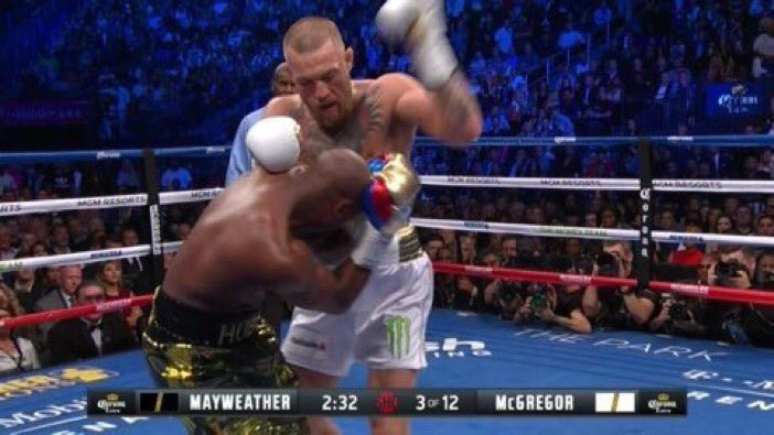 When you don't know how to play street fighter and you start mashing every button #MayweatherVsMcGregor