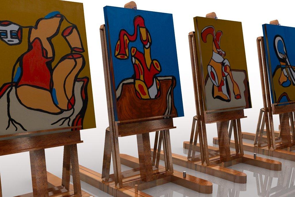 &quot;Body on table serie&quot; #artnews #artcontemporain #ATSocialMedia #BlackpoolRocks #spdc #paintings #Peintures #day2daygallery #art #artfair<br>http://pic.twitter.com/k7r8rgRSvy