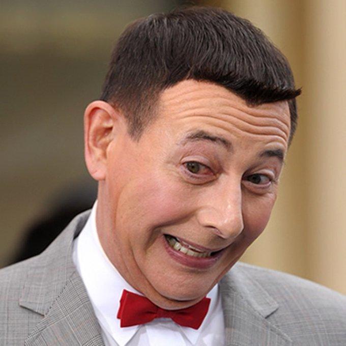 Pee-wee Herman is 65. Ha-ha! Happy birthday, Paul Reubens!