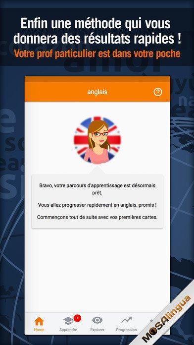 تحميل تطبيق Learn English - MosaLingua  المدفوع مجانى لفترة للايفون