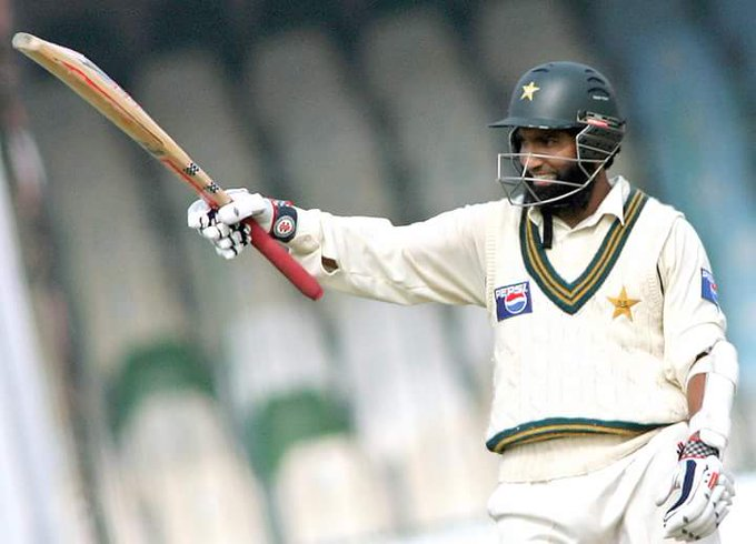 My favourite.  .  . Happy Birthday to Mohammad Yousuf!