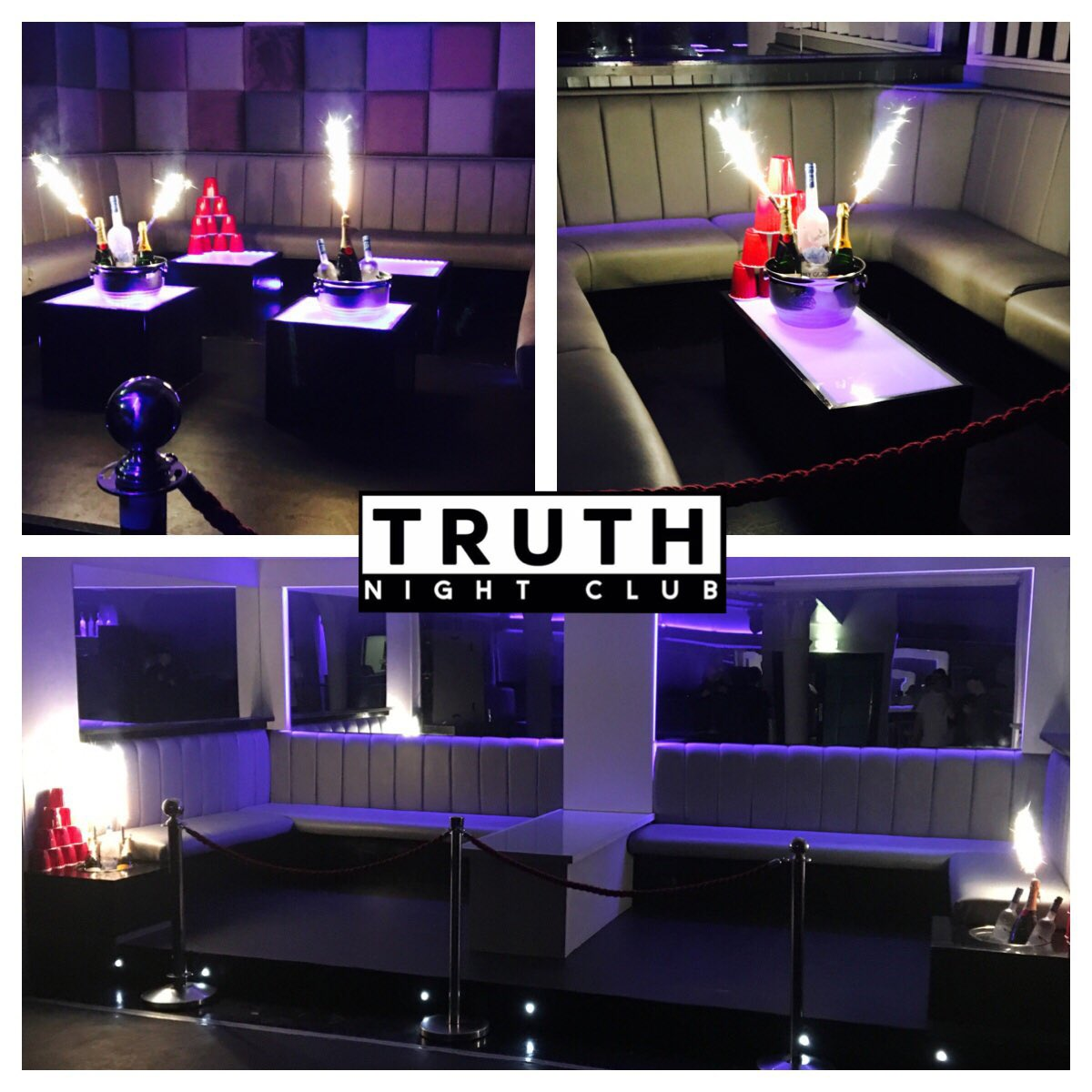 Truth Nightclub and Booths In Liverpool