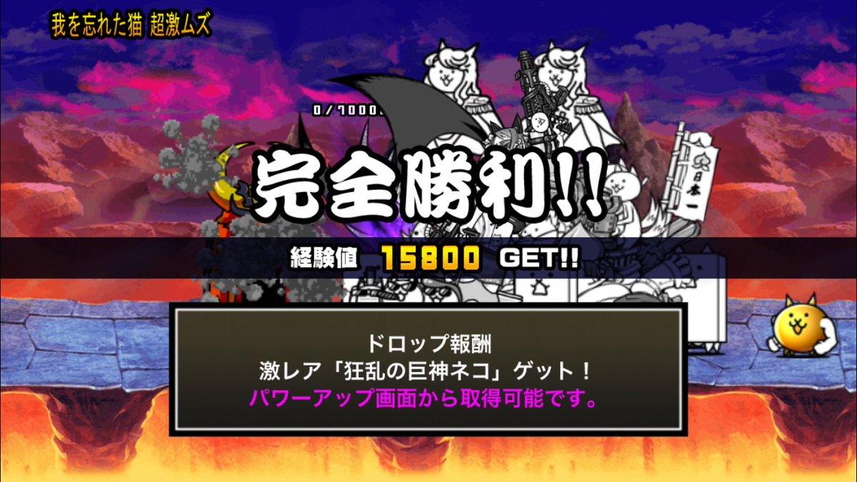巨神 ネコ の 狂乱