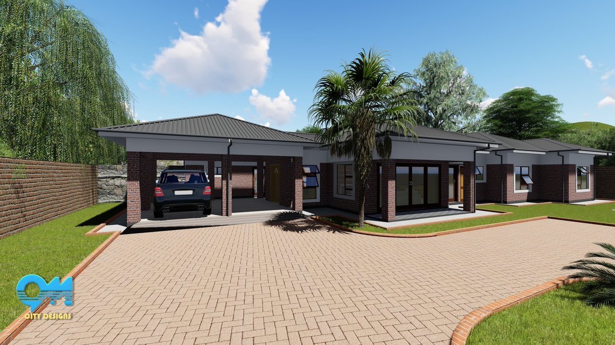 Om City Designs On Twitter 3d Views A House Design In Mutare