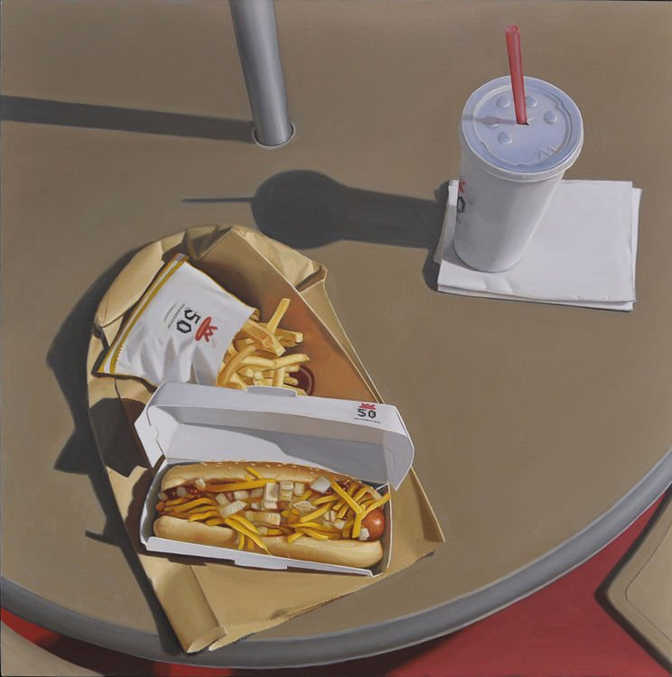 A table! #MarcTrujillo #LucianoVentrone #Peintures <br>http://pic.twitter.com/bFK5RZXQc7