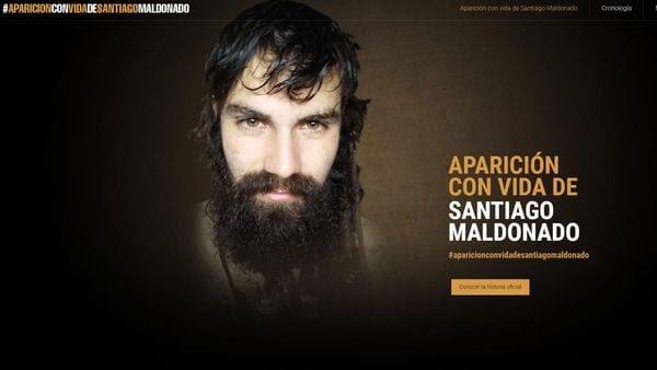 ¿Dónde está Santiago Maldonado? #AparicionConVidaDeSantiagoMaldonado https://t.co/ZJ2To2PGR2