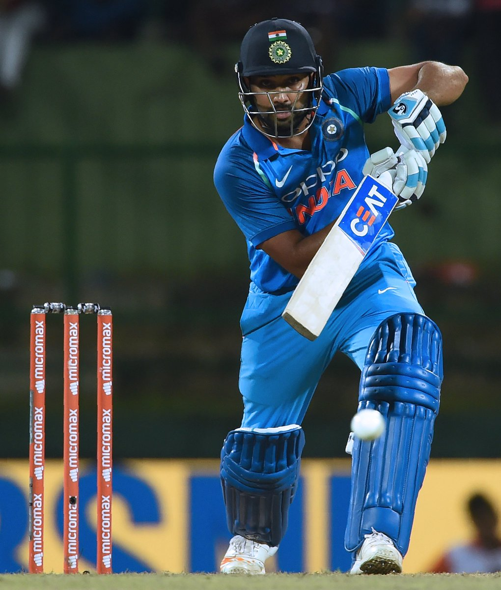 Superb hundred from Rohit Sharma, leading India's recovery from 61/4 and taking control of the chase #SLvIND