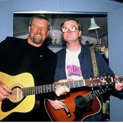 Also a big happy birthday to Alex Lifeson part time guitar tech